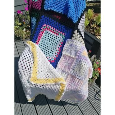 4 Week Online Zoom BEGINNERS Tuesday  Crochet Class (COMMENCING  5th OCTOBER  2021)