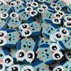 Owl Buttons - 20mm (Blue)