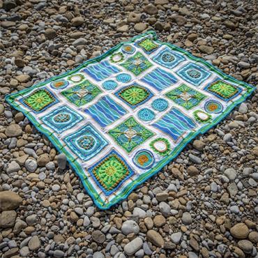 King Cole Crochet Along Yarn Pack: Tropical Shores + FREE stash bag