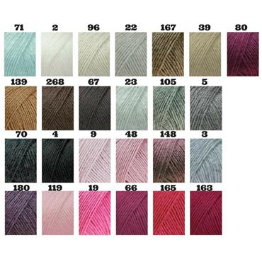 Lang 100% Cashmere Premium 53 different shades