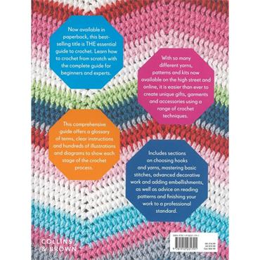 Collins & Brown Ultimate Crochet Bible Book.....256 pages