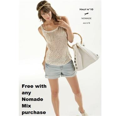 Cheval Blanc Nomade Mix Pattern #10 Knit Top with Crochet Edge (e-pattern)