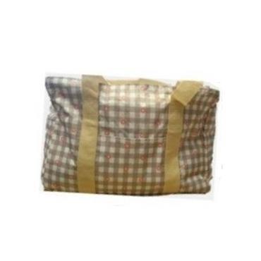 Knitting Bag - Checkered Floral