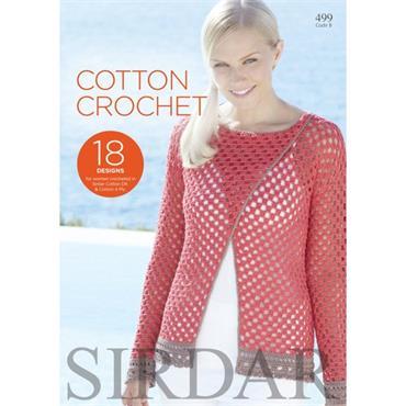Sirdar Cotton Crochet Book (B) #499