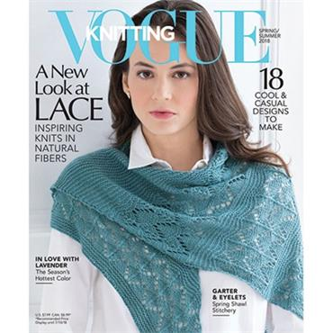 Designer / Vogue Knitting Magazine - Summer 2018