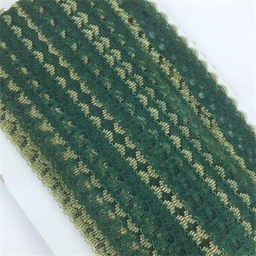 Dovecraft Knitting in Lace Green & Gold x 1 Metre
