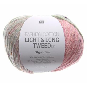 Rico Fashion Cotton Light & Long Tweed DK 50g