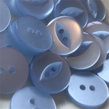 Pack of 6 x Plastic Fisheye Buttons (14mm, Size 22)