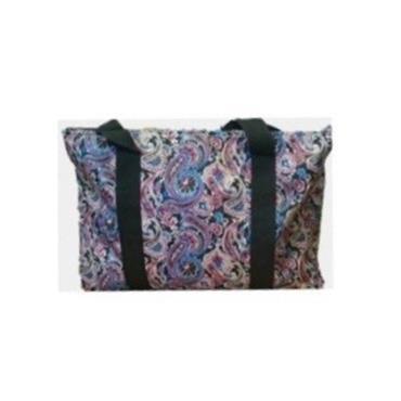 Knitting Bag - Floral Swirl