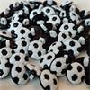 1 x Football Button (13mm)  Black & White