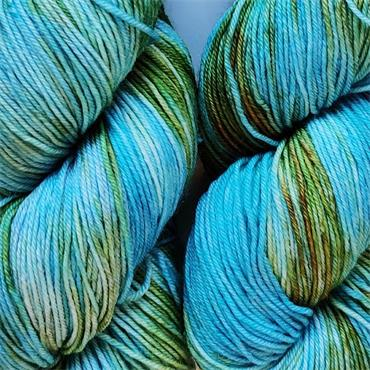 Green Elephant Hand Dyed 4Ply