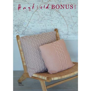 Hayfield Bonus Pattern #10255 Cushions in Hayfield Bonus DK