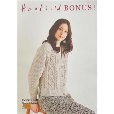 Hayfield Bonus Pattern #10322 Cardigan in Hayfield Bonus Aran