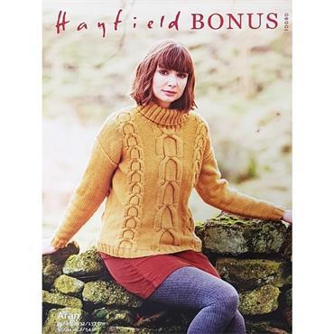 Hayfield Pattern #10080 Aran Sweater