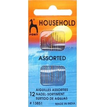 Sewing Needles - Household Assortment (pack of 12)