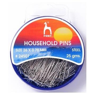 Household Pins - Straight