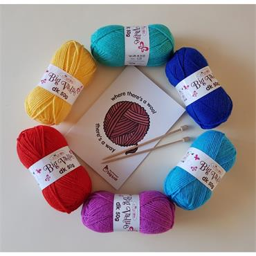 innocent Big Knit Bundle 2020   €9.99  (5 ball bundle + needles + book) inv
