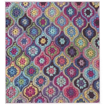 Janie Crow - Mystical Lanterns Crochet Blanket Pattern Booklet