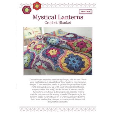 Janie Crow - Mystical Lanterns Crochet Blanket Pattern Booklet