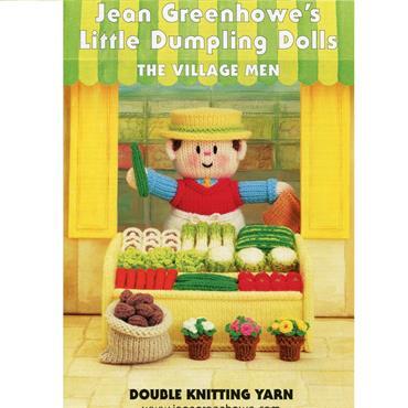 Jean Greenhowes Little Dumpling Dolls - The Village Men
