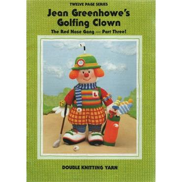 VERY LAST ONE >>Jean Greenhowes Golfing Clown (The red nose gang Part 3)