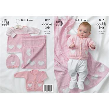 King Cole Pattern #3317 In the Pink in Bamboo Cotton