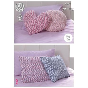King Cole #4542 Cushions in Yummy