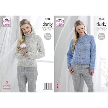 King Cole #5282 Sweaters in Indulge Chunky