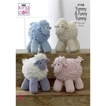 King Cole #9108 Sheep in Yummy & Funny Yummy