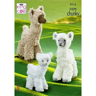 King Cole #9115 Alpacas in Tufty Super Chunky