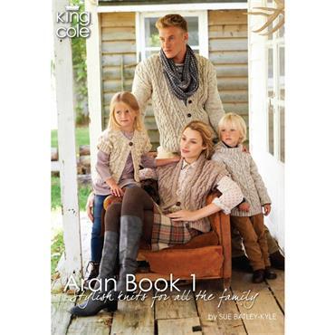 King Cole Aran Book 1 by Sue Batley-Kyle