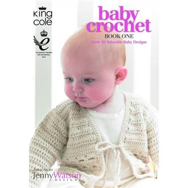 King Cole Baby Crochet Book One