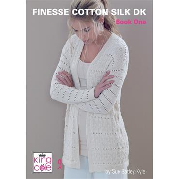King Cole Finesse Cotton Silk DK Book One