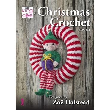 King Cole Christmas Crochet Book 4