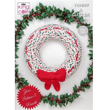 Sparkly Bow Wreath Kit