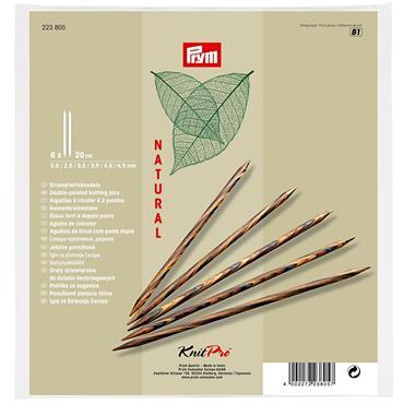 Prym KnitPro Double-Pointed Knitting Needles Set - Natural