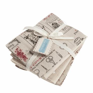 Fabric Trimits Fat Quarter Fabric Bundle - LA094