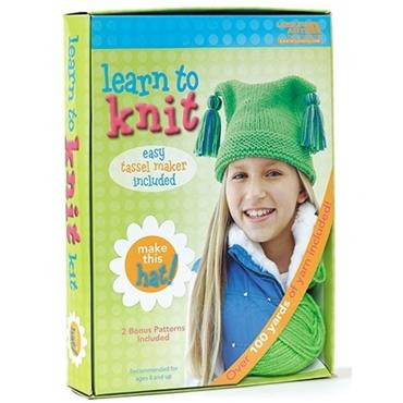 Learn to Knit Kit - Leisure Arts #46771