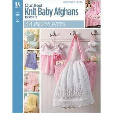Our Best Knit Baby Afghans Book 2 (34 designs)