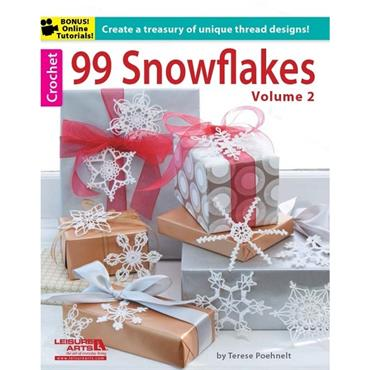 99 Christmas Snowflakes Volume 2 - Crochet (Leisure Arts #5839)