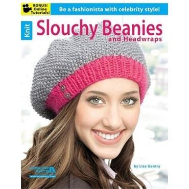 Slouchy Beanies & Head Wraps by Lisa Gentry (Leisure Arts #5940)