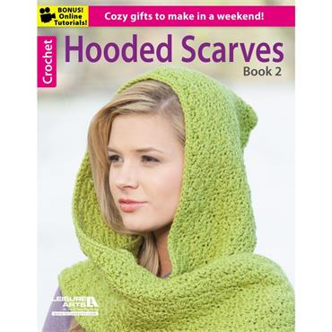 Hooded Scarves Book 2 (Leisure Arts #6189)