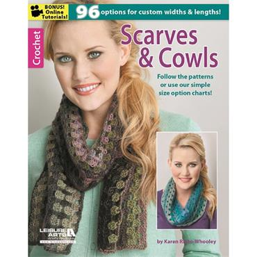 Scarves & Cowls by Karren Ratto-Whooley (Leisure Arts #6233)
