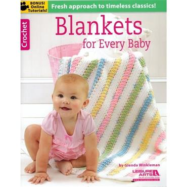 Blankets for Every Baby by Glenda Winkleman (Leisure Arts 6368)