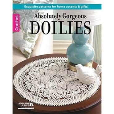 Absolutely Gorgeous Doilies - Crochet (Leisure Arts #6392)