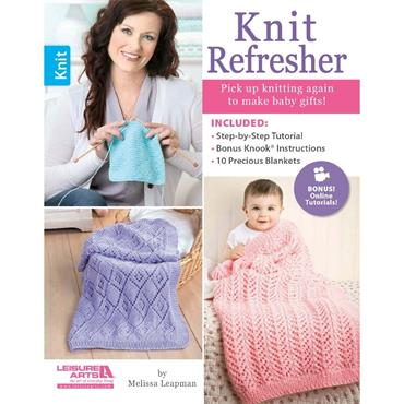 Knit Refresher (Leisure Arts #6461) learn more!