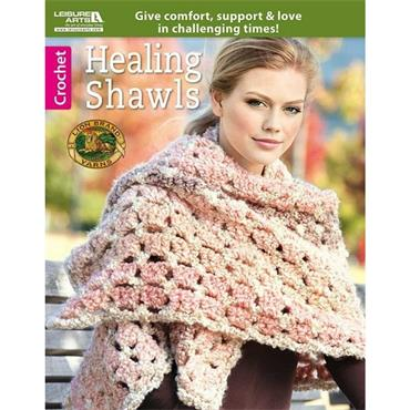 Healing Shawls - Crochet (Leisure Arts #6500)