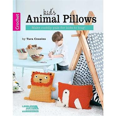 Kid's Animal Pillows - Crochet (Leisure Arts #6581)