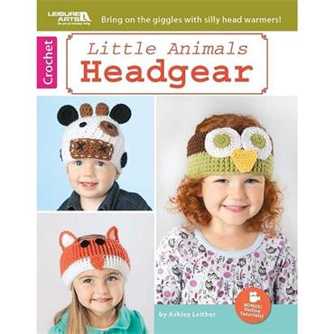 Little Animals Headgear - Crochet (Leisure Arts #6642)