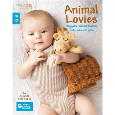 Animal Lovies - Knit (Leisure Arts #6645)